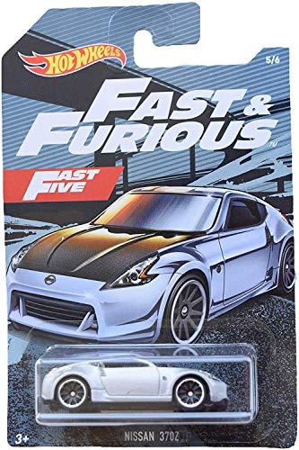 Hot Wheels Fast & Furious Nissan 370Z 5/6, Silver