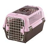 リッチェル キャンピングキャリーダブルドア Mサイズ 小型犬・猫用 ライトピンク
