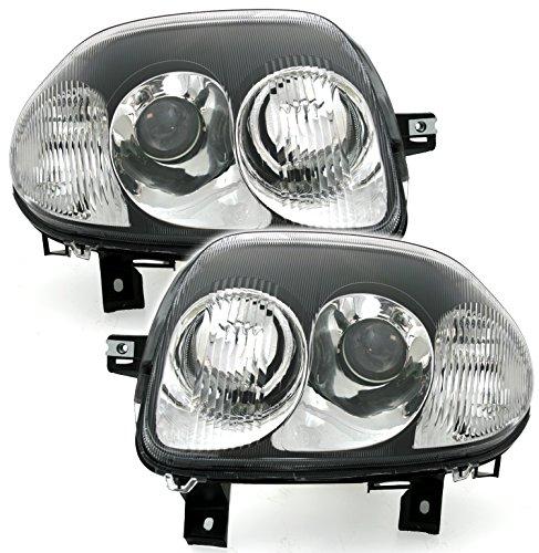 AD Tuning DEPO Scheinwerfer Set V6 Optik Schwarz H7 HB3 LWR Links rechts
