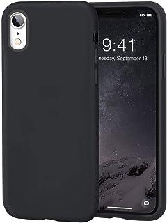 MHH iPhone XR Case, Premium Liquid Silicone   Raised Lip Screen & Camera   Anti-Scratch   Microfiber Liner Shock Absorptio...