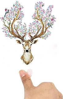 Signature Fingerprints Tree Wedding Fingerprint Tree Fingerprint Family Tree Signature Canvas Creative DIY Guest Signature...
