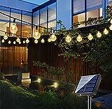 Bteng Solar Garden Lights, 60 LED Outdoor String...