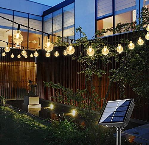 Bteng Solar Garden Lights, 60 LED Outdoor String Lights Solar Powered...