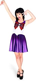 Sailor Moon Luna Costume Party Cosplay Skater Dress