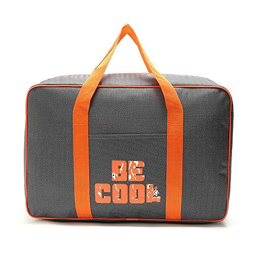 OPLJ Kit de lonchera Bolsa de Picnic Bolsa de Mano Caliente protección de Picnic al Aire Libre Bolsa fría película de Aluminio Bolsa de Hielo Rojo Verde Azul Rosa Rojo Naranja Naranja