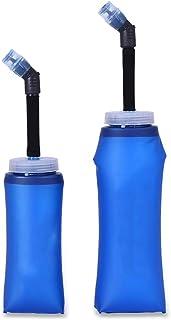 XIAOGAO TPU Gel De Sílice Agua Potable Plegable Taza De Agua Suave Corriendo Deportes Botella De Agua Equitación Fitness Cup
