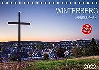 Winterberg Impressionen (Tischkalender 2022 DIN A5 quer): Eine Kleinstadt im Hochsauerland (Geburtstagskalender, 14 Seiten )