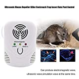 OUTAD Electronic Ultrasonic Mouse Killer Mouse Cockroach Trap Insect Mosquito Repeller Rats Spiders