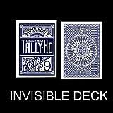 Invisible Deck Tally Ho - Circle Back - Blue Back -