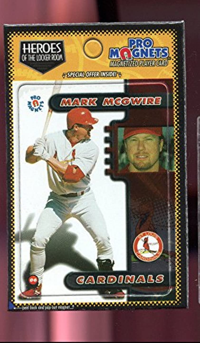 1998 Crown Pro Magnets Card #6 Mark McGwire Mags Refrigerator Heroes Locker Room skqpydsbznu7