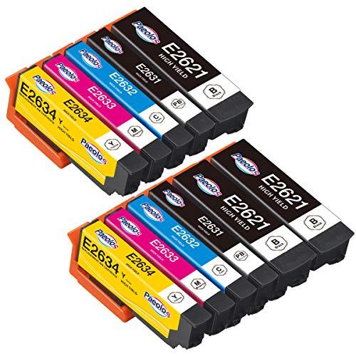 Paeolos 26XL Tinta Compatible para Epson 26 XL Cartuchos de Tinta para Epson Expression Premium XP-510 XP-520 XP-600 XP-605 XP-610 XP-615 XP-620 XP-625 XP-700 XP-710 XP-720 XP-800 XP-820
