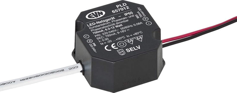 EVN Lichttechnik LED-Netzgert PLD657012 700mA 6,3-12W IP65 LED-Betriebsgert 4037293404822