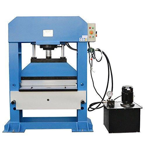 Electric 150 Ton Hydraulic Press Brake Bender Bending 3 Phase 220 Volt - 38
