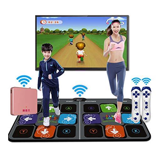 Tanzmatte Doppelte Tanz-Pad, Somatosensorische Spielmaschine HD-Qualität, 3D Anime Modus, Unbegrenzte Downloads Von Songs Und Spielen, Haushalt Eltern-Kind-Erziehung Geschenk