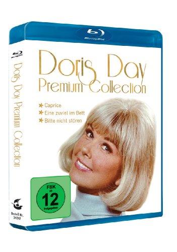 Doris Day Premium Collection mit Prägedruck - 3 Filme auf 3 Blu ray [Blu-ray]