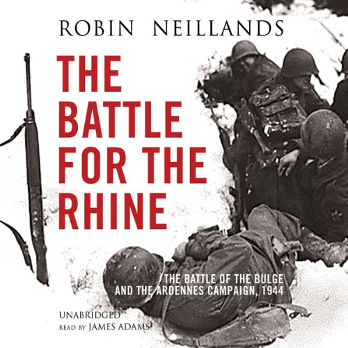 The Battle for the Rhine audiobook cover art