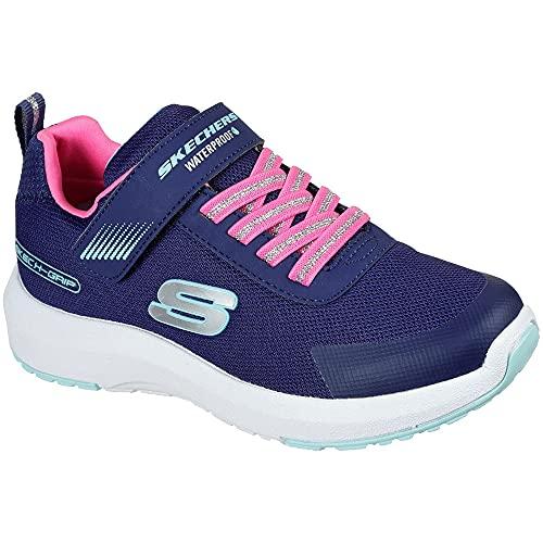 Skechers Dynamic Tread Misty Magic Sneaker, Navy, 35 EU