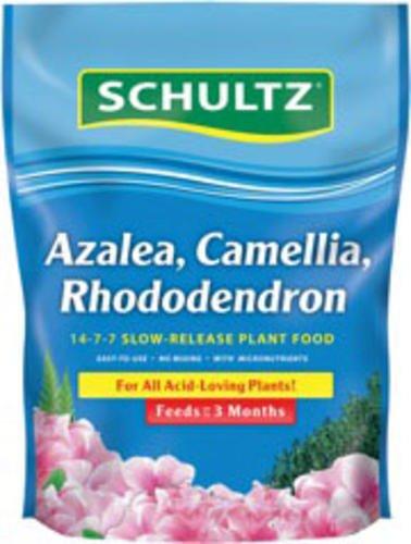 Schultz Azalea, Cameillia, Rhododendron, ACR 14-7-7 Slow Release Plant Food