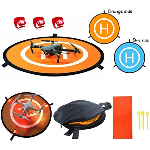Winterworm 55 cm Drone Landing Pad para dji Mavic Air, Tello, dji Spark, Dobby