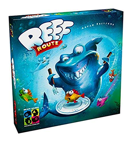 Brain Games Board Game Reef Route