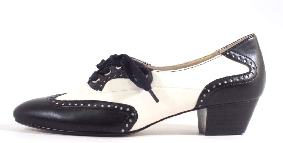 Women's 1920s Shoe Styles and History Chelsea Crew Demi Womens Oxford Low Heels $75.99 AT vintagedancer.com