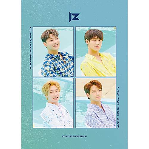 MUSIC K IZ – FREOM:IZ (2º Álbum Único) CD+52p Photobook + Marco de Fotos + Tarjeta de Foto Especial + 2 Tarjetas de Foto + póster Plegado