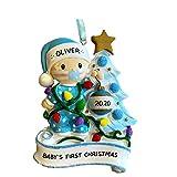 Christmas Accessories DIY Holiday Pendant Santa Doll Handmade Tree Decor