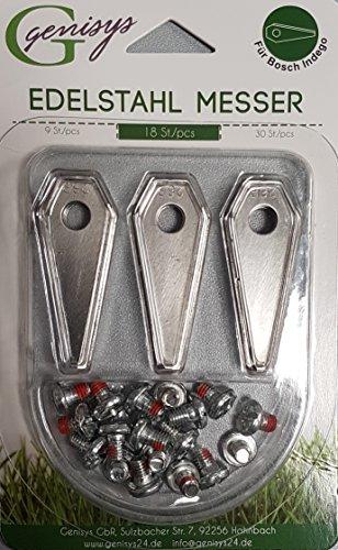 Genisys 18 cuchillas de repuesto 'afiladas' para robot...