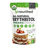 Organic Erythritol Sweetener Granular (454 Grams / 16 oz) - Perfect for Diabetics