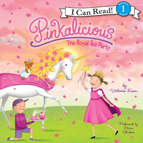 Pinkalicious: The Royal Tea Party audiobook cover art