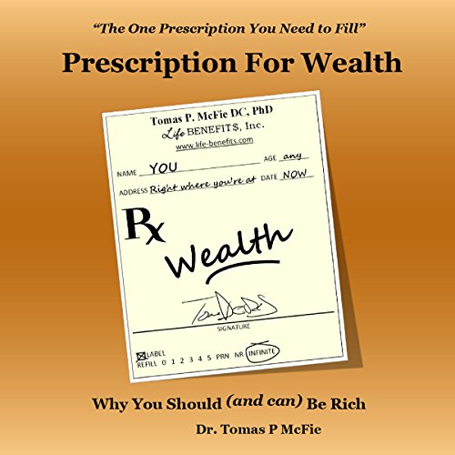 Prescription for Wealth audiobook cover art