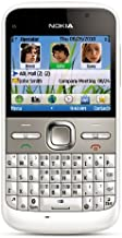 Nokia E5-00 Unlocked GSM Phone with Easy Email Setup, IM, QWERTY, 5 MP Camera, Ovi Store with Apps, and Free Ovi Maps Navigation (White)