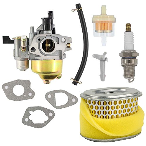 HIFROM Repalce Carburetor Air Filter Spark Plug Replacement for Harbor Freight Predator 212cc Homelite Pressure Washer 179CC 180cc DJ165F 2700PSI 2.3GPM UT80522D Honda GX160 5.5HP GX200 6.5 HP Engine