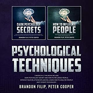 Psychological Techniques: 2 Books in 1, This Book Include audiobook cover art