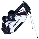 Tour Edge Exotics Xtreme3 Stand Bag (Men's, Exotics Extreme 3 Stand Bag Blk/Char/Lime) ()