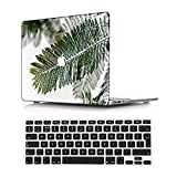 NEWCENT Nuevo MacBook Air 13' Funda,Plástico Ultra Delgado Ligero Cáscara Cubierta EU Teclado Cubierta para MacBook Air 13 Pulgadas con Retina Display Touch ID(Modelo:A2337 M1/A2179),Paisaje A 42