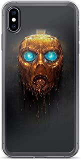 TeeTan Compatible with iPhone 6 Plus/6s Plus Case Borderlands 3 Symbol Gold Mask Vault Hunters Action Game Pure Clear Phone Cases Cover