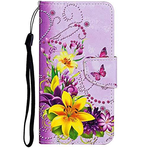 Vepbk für Samsung Galaxy S20 Plus [nicht für S20] Hülle, Handyhülle Leder Case Wallet Brieftasche mit Magnetverschluss Ständer Tasche Schale Bunt Flip Cover Handytasche für Galaxy S20 Plus,Muster 3