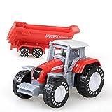 daidai Juguete para vehículo agrícola de fundición a presión Modelo de vehículo Mini Modelo de vehículo de ingeniería Tractor vehículo de ingeniería Tractor Modelo de Juguete para niños