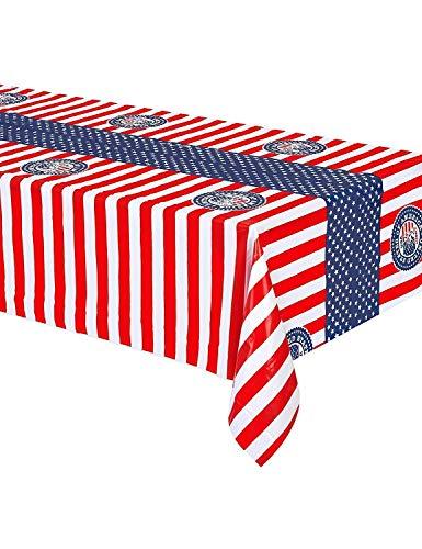 Creative USA Parti Housse pour Table 130 x 180 cm