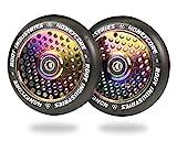 ROOT INDUSTRIES 110mm Honeycore Wheels - Black Urethane (Pair)...