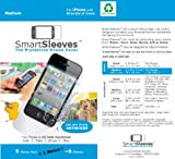 SmartSleeves PS35A Sleeves for iPhone 3/3G/3GS/4/4S with Standard Case - 1 Pack - Retail Packaging - Clear