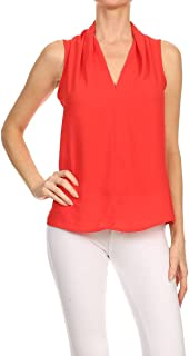 Best red tank blouse Reviews