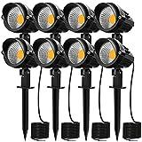 MEIKEE 7W LED Landscape Lights 12V 24V Low...