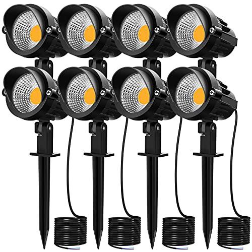 MEIKEE 7W LED Landscape Lights 12V 24V Low Voltage Landscape...