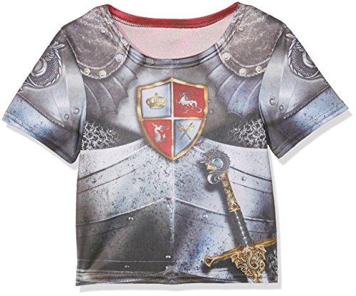 Rubie's 2630862L Knight T-shirt, kostuum voor kinderen, L