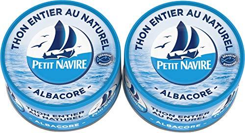 Petit Navire Thon Naturel Albacore 2x190g