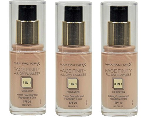 Max Factor.Max Factor Face Finity 3In1 Foundation 75 Golden 30Ml