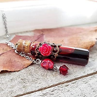 Blood Vial Necklace