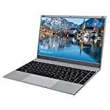 KUU XBook Ordenador Portátil 14.1'', Notebook Inter Celeron J4115, 8GB RAM DDR4 512GB SSD, Monitor de PC portátil FHD con USB 3.0 y Bluetooth 4.2, portátil con Windows 10